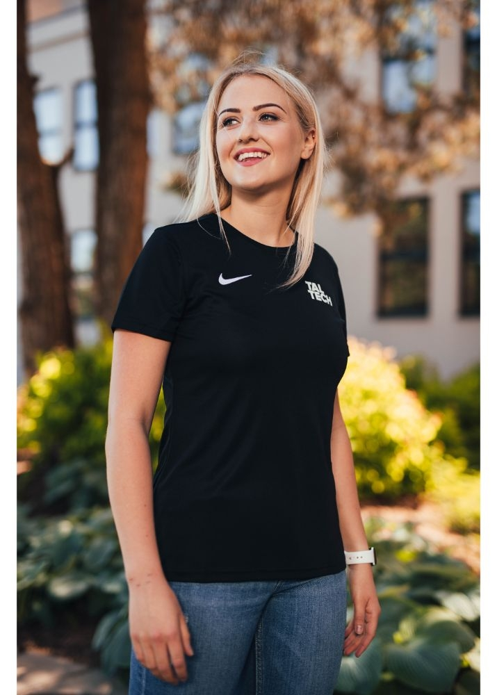 Nike black sports shirt for women