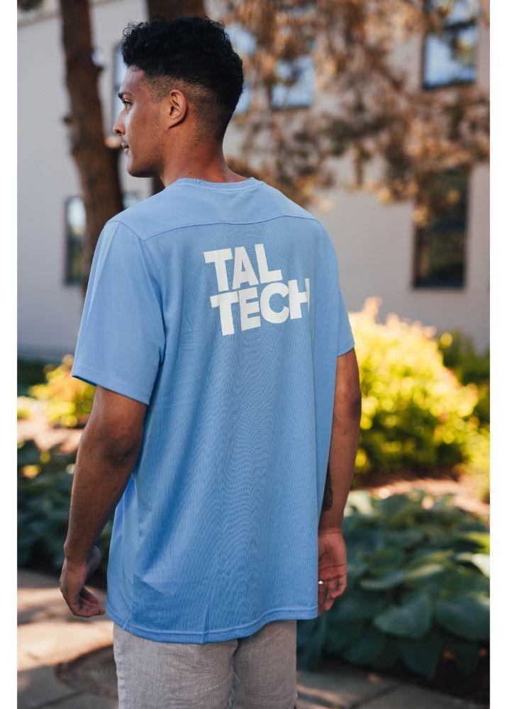 Nike light blue sports shirt for men