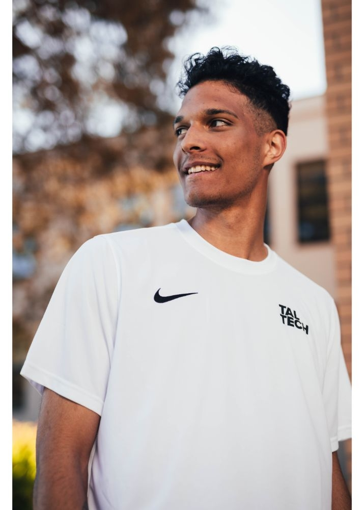 Nike white sports shirt for men