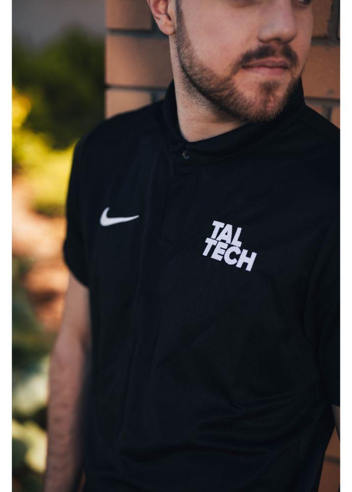 Nike black polo shirt for men