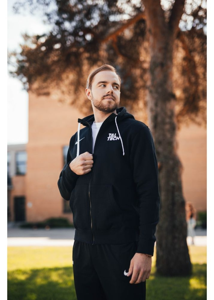 Nike black sweater for men