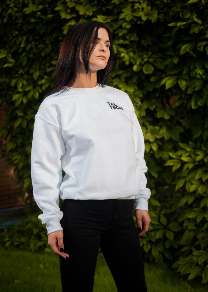 White sweater without the hood