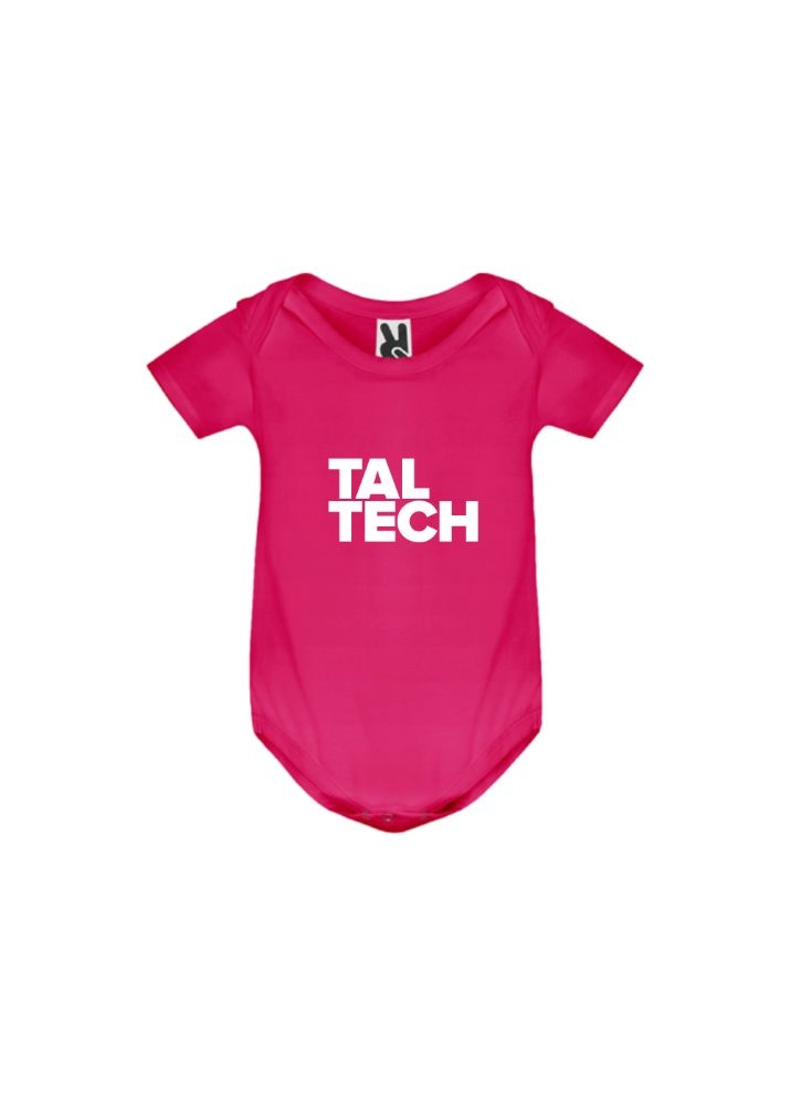 Pink bodysuit for babies