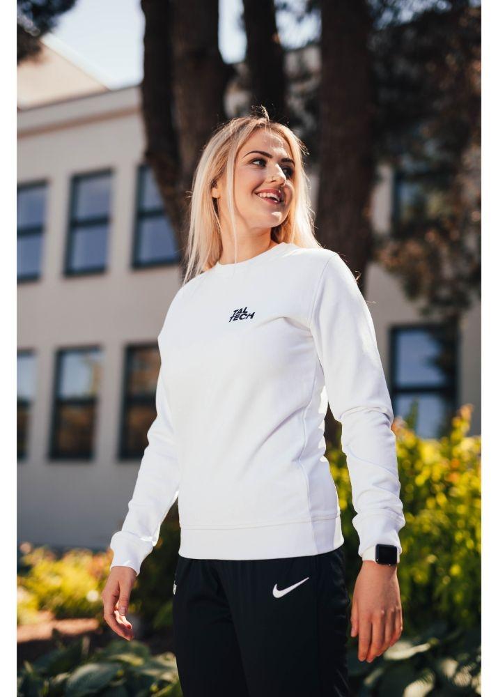 Unisex white sweater TALTECH