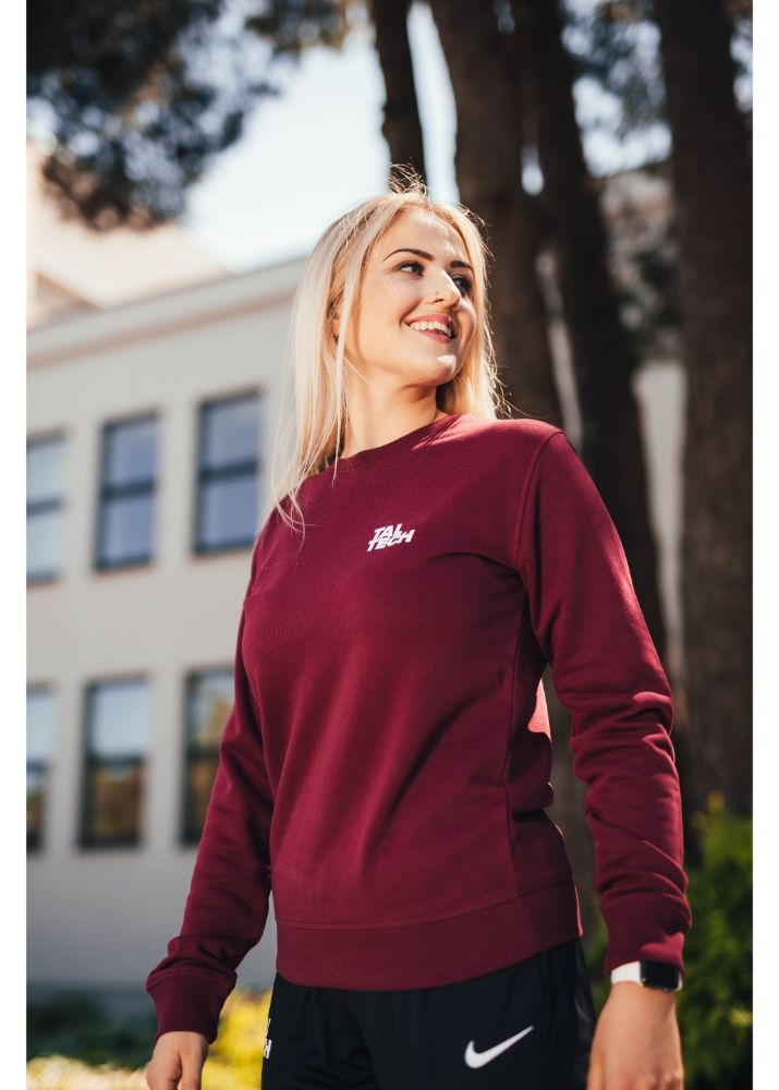 Unisex burgundy sweater TALTECH