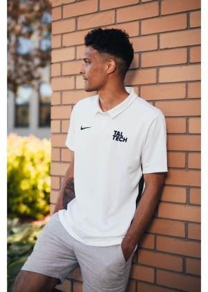 Nike white polo shirt for men