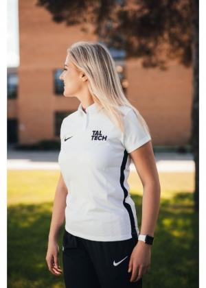 Nike white polo shirt for women