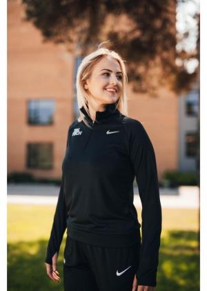 Nike black running shirt for women