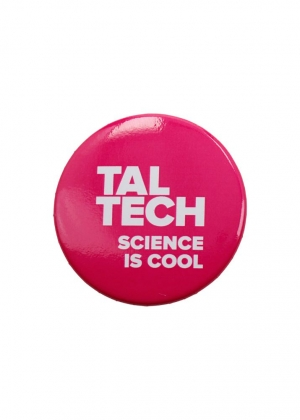 """Badge """"Science is cool"""""""