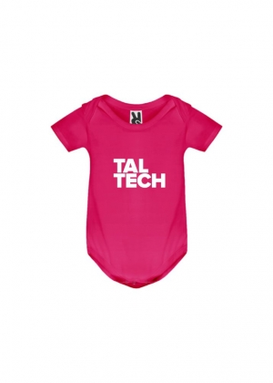 Pink bodysuit for babies