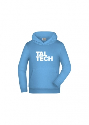 Light-blue hoodie for children